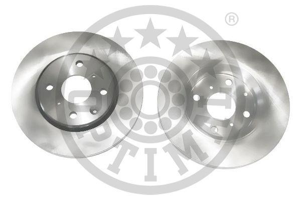 BS-7652C OPTIMAL Vorderachse, belüftet, beschichtet Ø: 247mm, Bremsscheibendicke: 20mm Bremsscheibe BS-7652C günstig kaufen