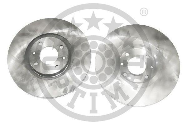 BS-7932C OPTIMAL Vorderachse, belüftet, beschichtet Ø: 302mm, Bremsscheibendicke: 26mm Bremsscheibe BS-7932C günstig kaufen