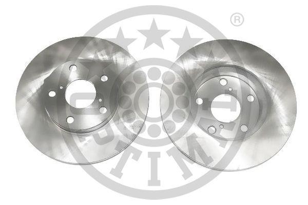 BS-7984C OPTIMAL Vorderachse, belüftet, beschichtet Ø: 275mm, Bremsscheibendicke: 25mm Bremsscheibe BS-7984C günstig kaufen