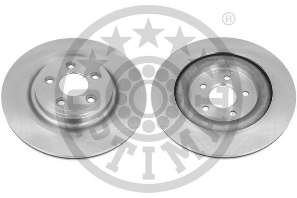 BS-9176C OPTIMAL Hinterachse, belüftet, beschichtet Ø: 326mm, Bremsscheibendicke: 20mm Bremsscheibe BS-9176C günstig kaufen