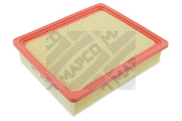 Achetez Filtre à air MAPCO 60422 (Longueur: 239mm, Longueur: 239mm, Largeur: 205mm, Hauteur: 53mm) à un rapport qualité-prix exceptionnel