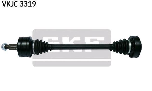 MERCEDES-BENZ C-Klasse 2014 Gelenkwelle - Original SKF VKJC 3319 Länge: 629mm, Außenverz.Radseite: 25