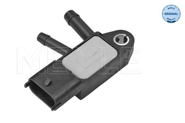 RENAULT CAPTUR 2015 Abgasdrucksensor - Original MEYLE 514 801 0000 Anschlussanzahl: 3