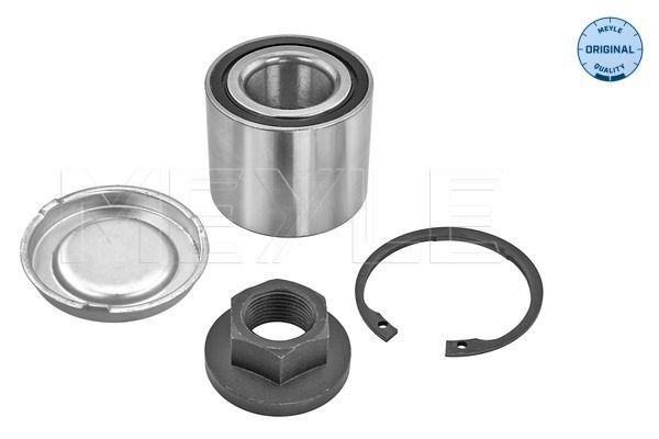 Купете MWK0244 MEYLE задна ос, с допълнителен материал Ø: 53мм, вътрешен диаметър: 27мм Комплект колесен лагер 614 750 0015 евтино