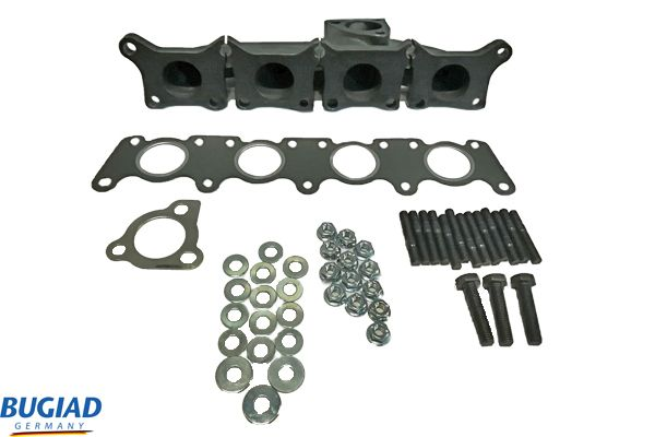 Audi A4 2009 Exhaust header BUGIAD BSP25210PROKIT: with seal, with studs