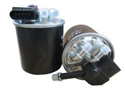 SP-1455 ALCO FILTER com aquecimento do filtro Altura: 124,0mm Filtro de combustível SP-1455 comprar económica