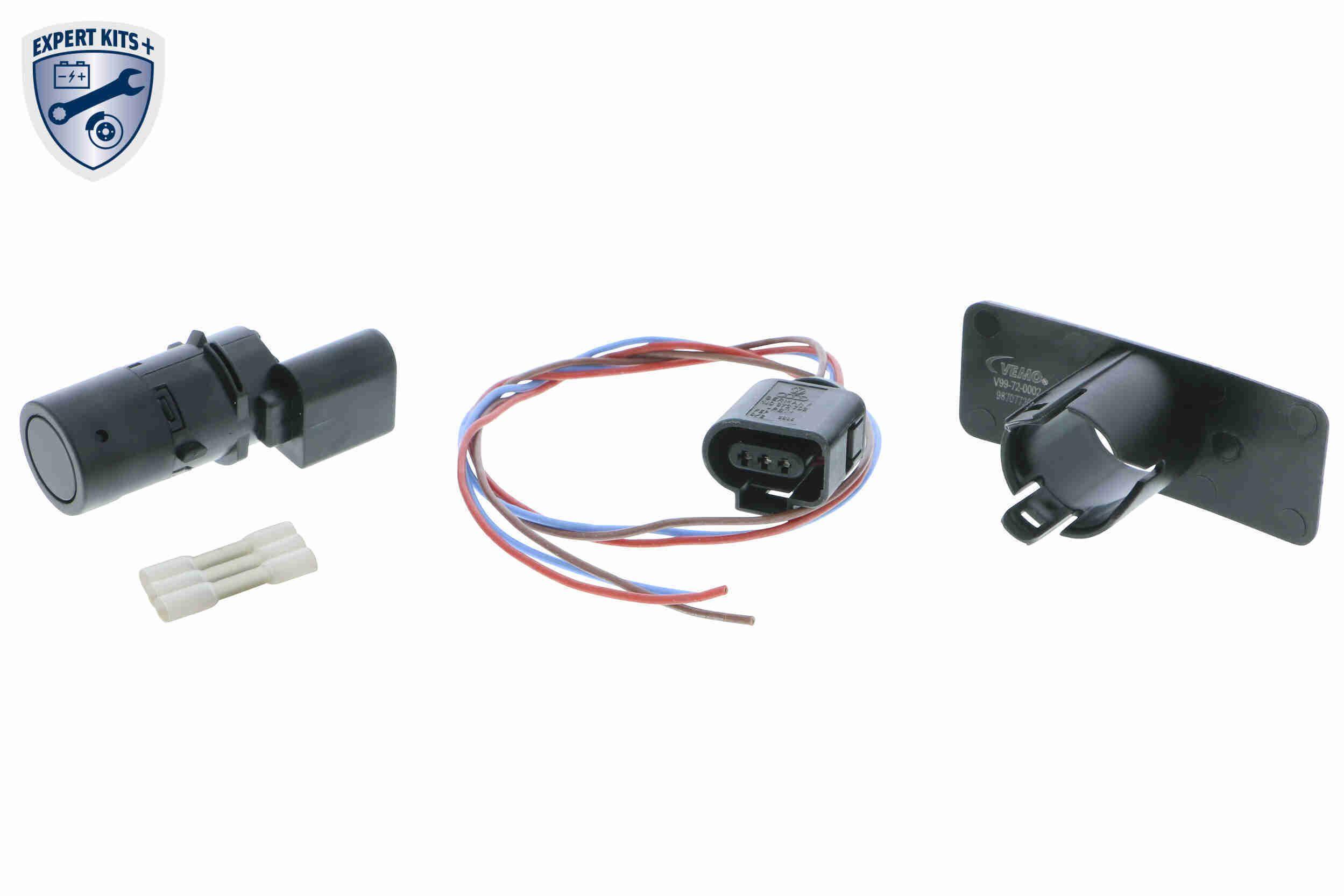 V10-72-10809 VEMO beidseitig, schwarz, Ultraschallsensor Sensor, Einparkhilfe V10-72-10809 günstig kaufen