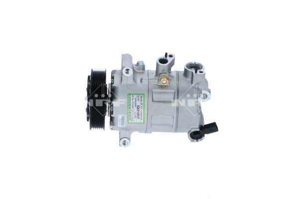 32936 NRF PAG 46 YF, Kältemittel: R 1234yf, R 134a Riemenscheiben-Ø: 110mm, Anzahl der Rillen: 6 Klimakompressor 32936 günstig kaufen