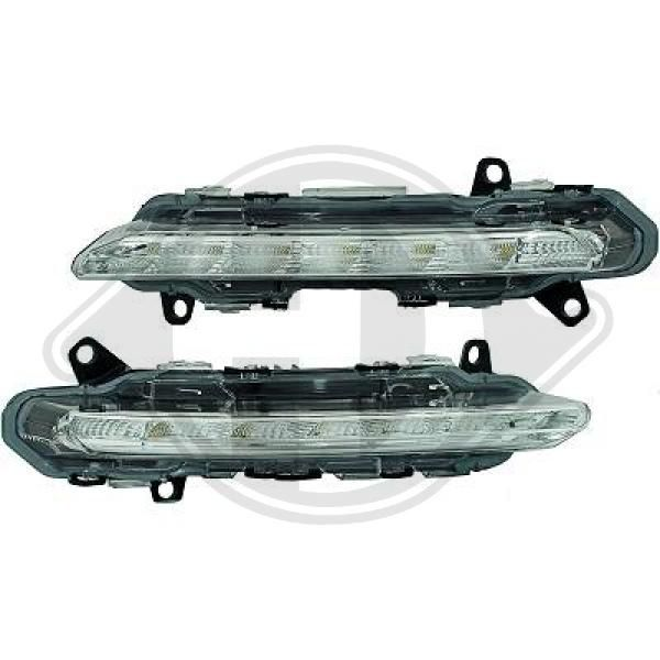 Pirkti ZUB00104 DIEDERICHS Dienos metu naudojamų šviesų komplektas ZUB00104 nebrangu