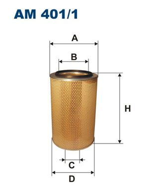 AM 401/1 FILTRON Air Filter for IVECO EuroTech MT - buy now