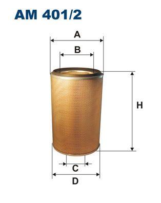 Luftfilter FILTRON AM 401/2 mit 15% Rabatt kaufen