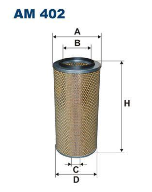 AM 402 FILTRON Luftfilter für SCANIA online bestellen
