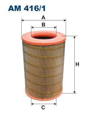 AM 416/1 FILTRON Luftfilter für SCANIA online bestellen