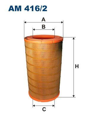 AM 416/2 FILTRON Luftfilter für SCANIA online bestellen