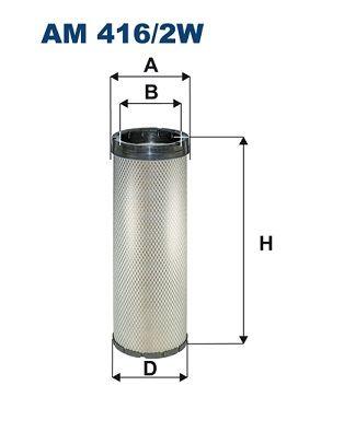 AM 416/2W FILTRON Sekundärluftfilter für SCANIA online bestellen