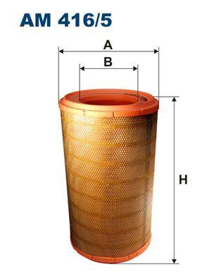 AM 416/5 FILTRON Luftfilter für SCANIA online bestellen