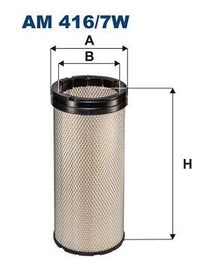 AM 416/7W FILTRON Sekundärluftfilter für SCANIA online bestellen