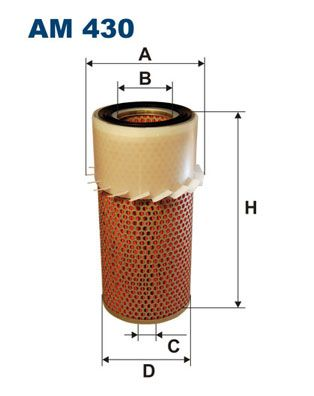 FILTRON Air Filter AM 430 for MITSUBISHI: buy online
