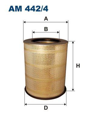 FILTRON Luftfilter für VOLVO - Artikelnummer: AM 442/4