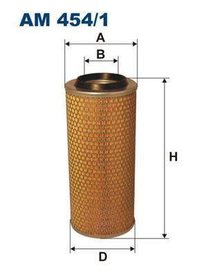 AM 454/1 FILTRON Luftfilter billiger online kaufen