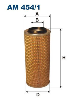 FILTRON Air Filter AM 454/1 for MITSUBISHI: buy online