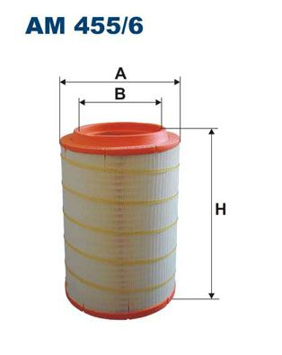 AM 455/6 FILTRON Air Filter for IVECO X-WAY - buy now