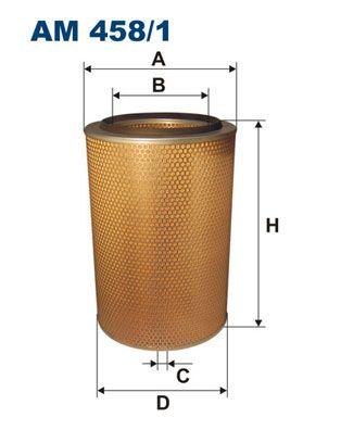 FILTRON Luftfilter til IVECO - vare number: AM 458/1
