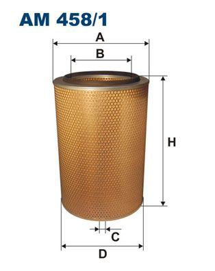 FILTRON Air Filter for IVECO - item number: AM 458/1