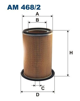 FILTRON Air Filter AM 468/2 for MITSUBISHI: buy online