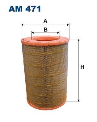 FILTRON Luftfilter für VOLVO - Artikelnummer: AM 471