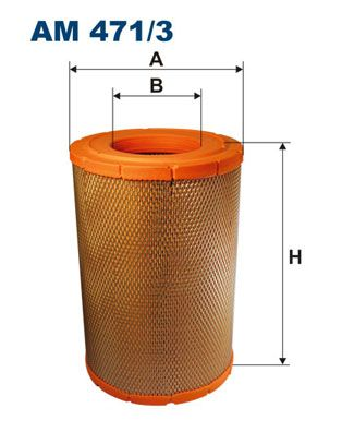 FILTRON Air Filter AM 471/3 for MITSUBISHI: buy online