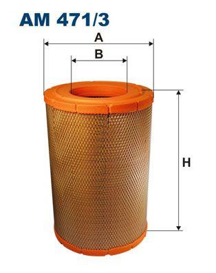 FILTRON Filtr powietrza do RENAULT TRUCKS - numer produktu: AM 471/3
