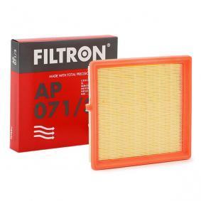 AP 071/3 FILTRON Länge: 205mm, Breite: 214mm, Höhe: 38mm Luftfilter AP 071/3 günstig kaufen
