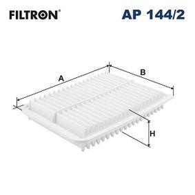 AP 144/2 FILTRON Länge: 293mm, Breite: 200mm, Höhe: 43mm Luftfilter AP 144/2 günstig kaufen
