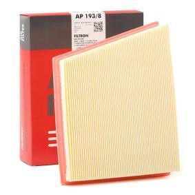 AP 193/8 FILTRON Länge: 191,5mm, Breite: 256mm, Höhe: 49,5mm Luftfilter AP 193/8 günstig kaufen