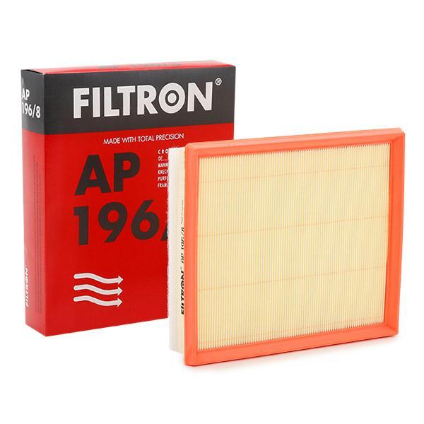 Achetez Filtre à air FILTRON AP 196/8 (Longueur: 239,5mm, Longueur: 239,5mm, Largeur: 205mm, Hauteur: 49,5mm) à un rapport qualité-prix exceptionnel