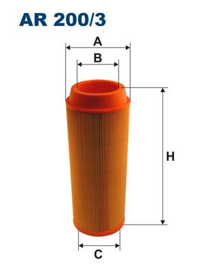 AR 200/3 FILTRON Luftfilter für AVIA online bestellen