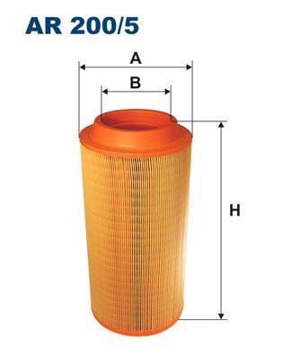 Kup FILTRON Filtr powietrza AR 200/5 do AVIA w umiarkowanej cenie