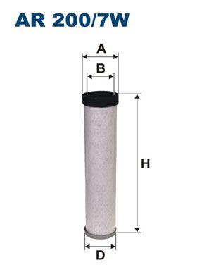 AR 200/7W FILTRON Sekundärluftfilter billiger online kaufen