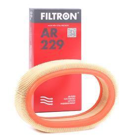 AR 229 FILTRON Höhe: 62,5mm Luftfilter AR 229 günstig kaufen