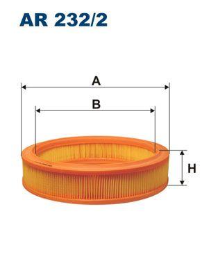 Zracni filter AR 232/2 z izjemnim razmerjem med FILTRON ceno in zmogljivostjo