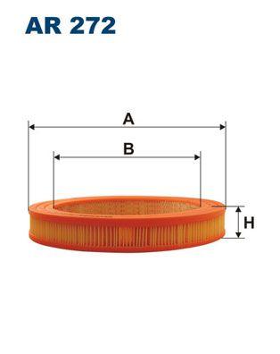 Zracni filter AR 272 z izjemnim razmerjem med FILTRON ceno in zmogljivostjo