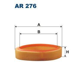 AR 276 FILTRON Höhe: 63,5mm Luftfilter AR 276 günstig kaufen