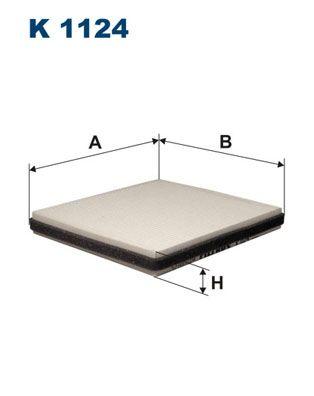 FILTRON Filter, Innenraumluft für AVIA - Artikelnummer: K 1124