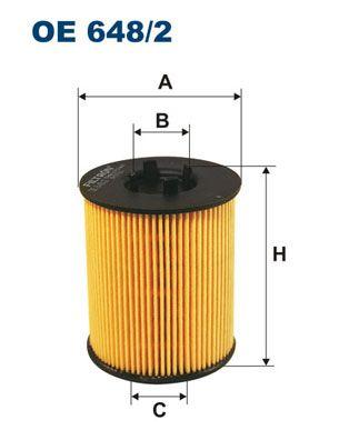 Original SAAB Ölfilter OE 648/2