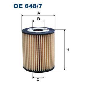OE 648/7 FILTRON Innendurchmesser 2: 21mm, Höhe: 83mm Ölfilter OE 648/7 günstig kaufen