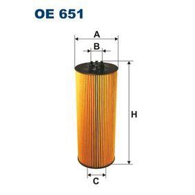 Ölfilter FILTRON OE 651 mit 15% Rabatt kaufen