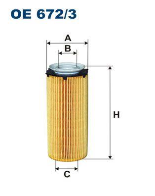 Ölfilter FILTRON OE 672/3