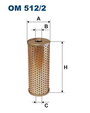 OM 512/2 FILTRON Hydraulikfilter, Lenkung billiger online kaufen
