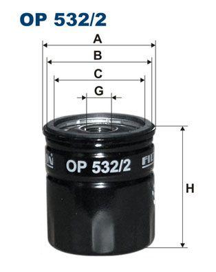 Original SAAB Ölfilter OP 532/2